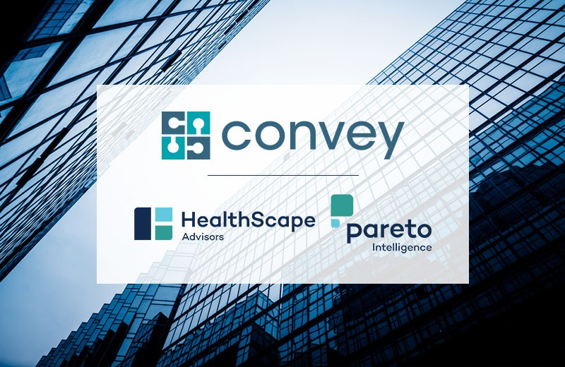 Convey Health Solutions to Combine With HealthScape Advisors and Pareto Intelligence